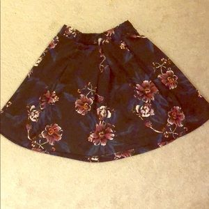 Charlotte Russe Skirts - Floral skirt